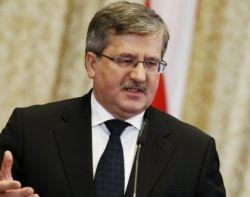 Коморовский призвал действовать против агрессии России