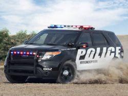 За полицейскими в США будут следить служебные авто