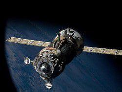 Космический корабль «Союз» пристыковался к МКС
