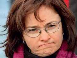 Набиуллина в Госдуме пересчитала рубль на гречку