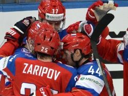 Сборная России по хоккею обыграла Чехию в матче кубка «Карьялы»