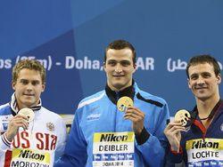 Российская сборная по плаванию завоевала девять медалей