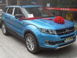 Британская компания Land Rover оценила качество китайского клона